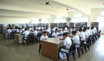 Aadarsh mahavidyalaya library